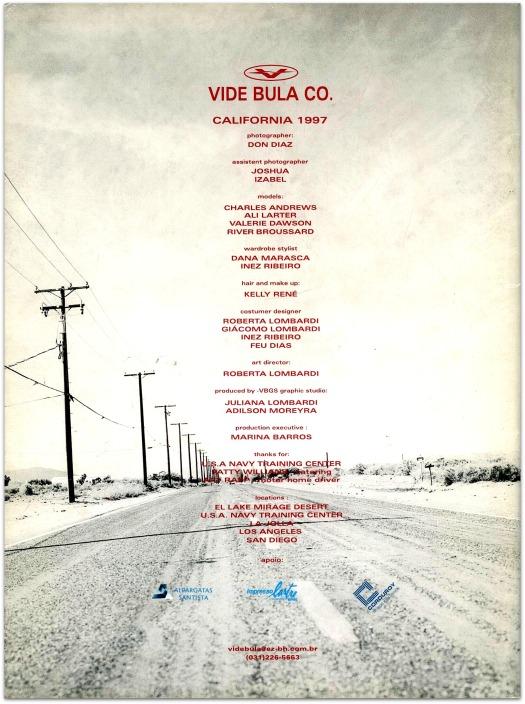 Cover Vide Bula Fashion Catalog in 1997