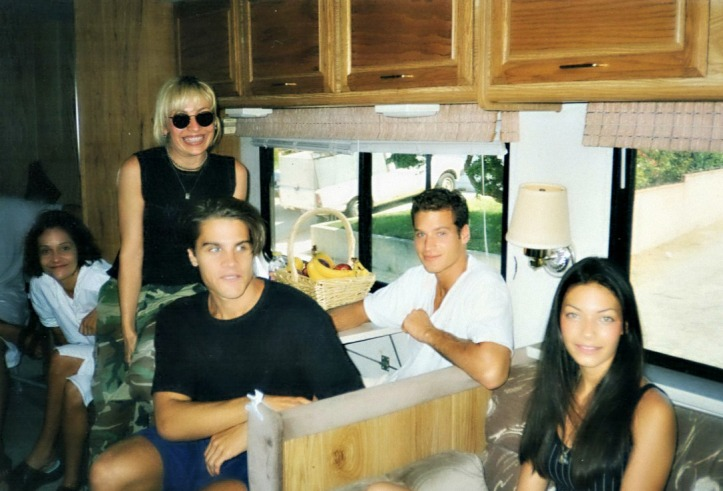 Pause in LA - meeting with models and stylist at Motorhome