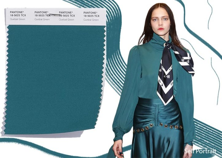 fall_winter_2018_2019_Pantone_colors_trends_Quetzal_Green