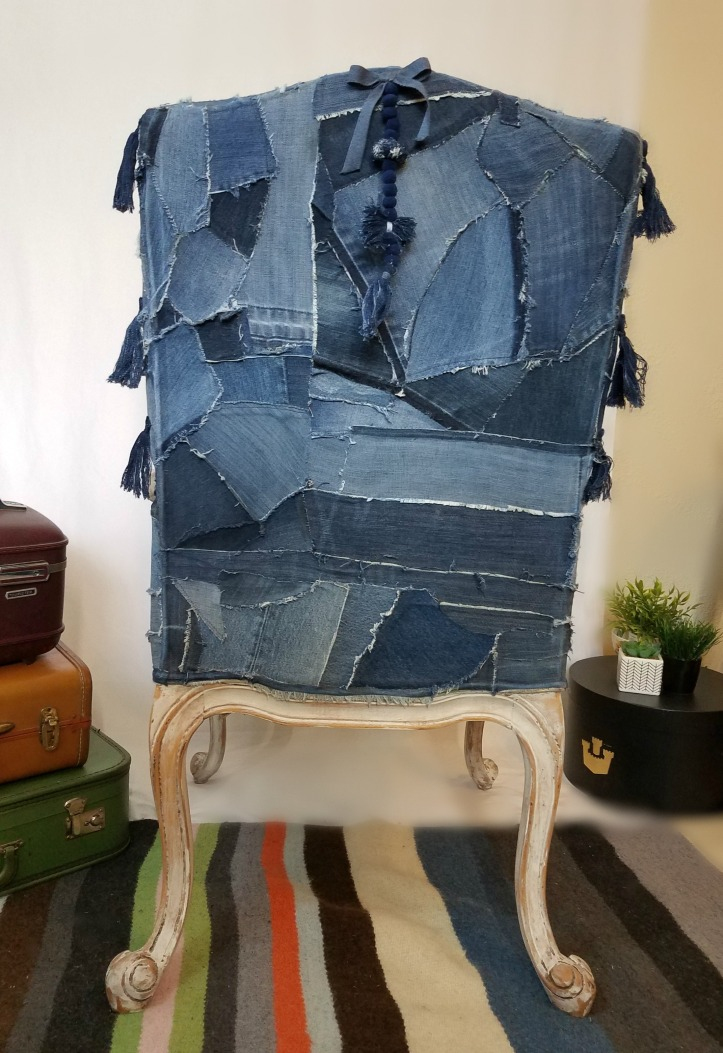 Jeans chair back